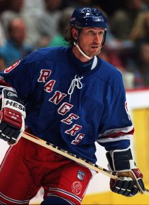 Who is the last Oiler remaining from the trade of the Great Gretzky (pictured)? Current Oiler Captain Ethan Moreau. Image courtesy of Hakandahlstrom (Wikipedia Creative Commons)