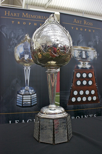 Who will take home take home the Hart Trophy this season? (Dave Kuhn/Flickr).