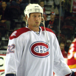 Former-Montreal Canadiens forward Travis Moen