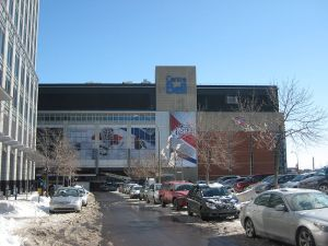 Bell Centre in Montreal. (cr: alexcaban@Wikimedia)
