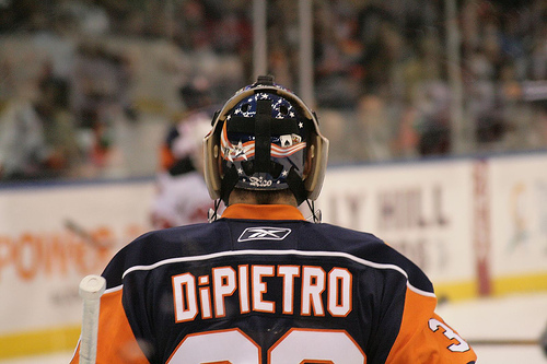 Rick DiPietro has been sent back to NY for further evaluations on his current groin strain (RagingMike/Flickr)