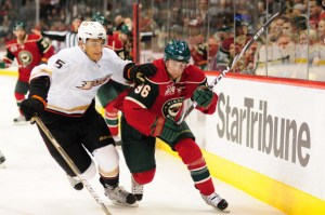 Pierre-Marc Bouchard is finally healthy for the Wild (Icon SMI)