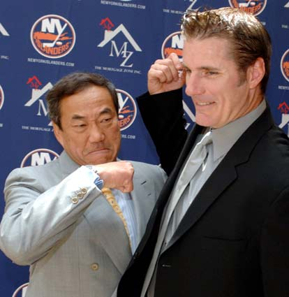 Garth Snow and Charles Wang have taken the Islanders through a slow and steady rebuilding process over the last several years.