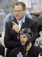 Hot seat or not, Dan Bylsma faced pressure entering this season. (wstera2/flickr)