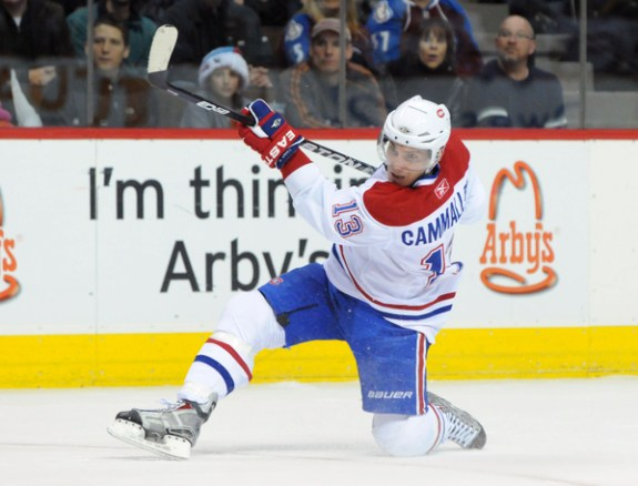 Cammalleri and the Canadiens: A Cautionary Tale