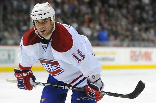 Scott Gomez Canadiens