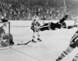 Winning the Stanley Cup against St. Louis