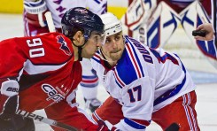 Caps Comeback from 3-0 Deficit in Game 4 in Double OT, Lead Series 3-1 Over Rangers