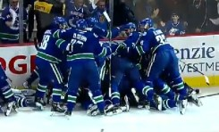 Never In Doubt; Canucks take series in 7th Game OT