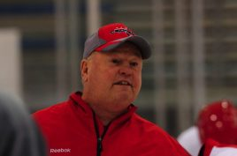 Boudreau while in Washington
