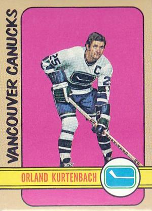 Orland Kurtenbach - Canucks hockey card