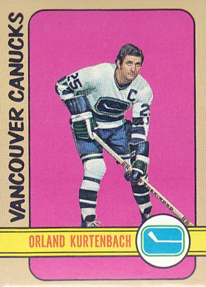Orland Kurtenbach - Canucks hockey card