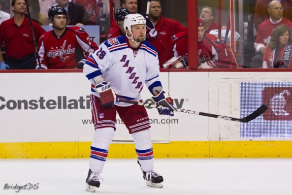 Bryan McCabe New York Rangers