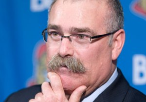 The secret to how the Senators deal with injuries to their stars? Paul MacLean's mustache. (Photo BY Canadian Press. June, 2011.)