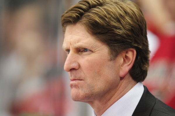 Mike Babcock Coach Red Wings