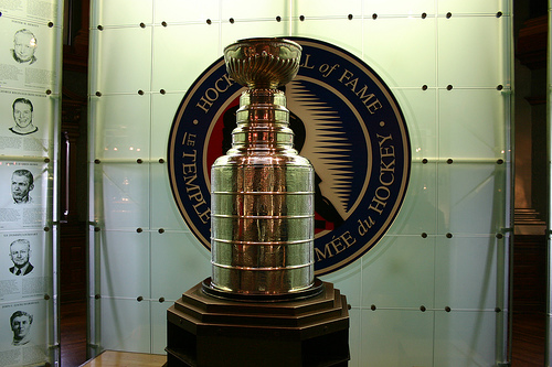 The Stanley Cup Playoffs will likely have a much different look soon (cr: mastermaq@flickr)