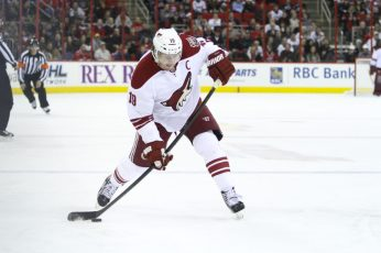 Phoenix Coyote Shane Doan - Photo by Andy Martin Jr