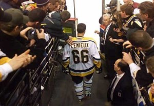 Mario Lemieux (courtesy of the Pittsburgh Penguins)