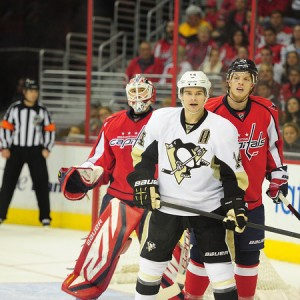 Evgeni Malkin and James Neal need to be reunited with Chris Kunitz. (Tom Turk/THW)