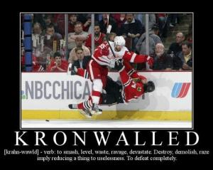 """You have been """"Kronwalled"""""""