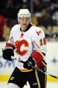 Matt Stajan Flames