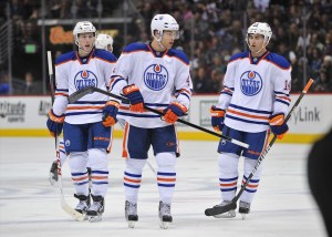 Taylor Hall and Jordan Eberle