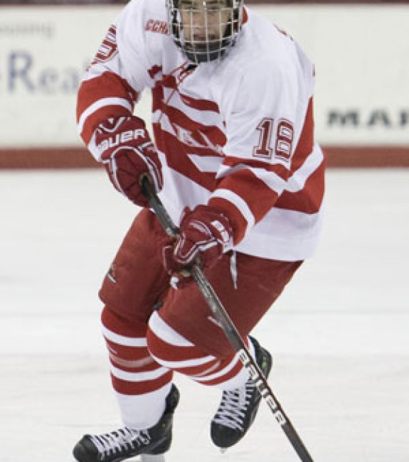 Reilly Smith during his college days (photo: Miami Athletics)