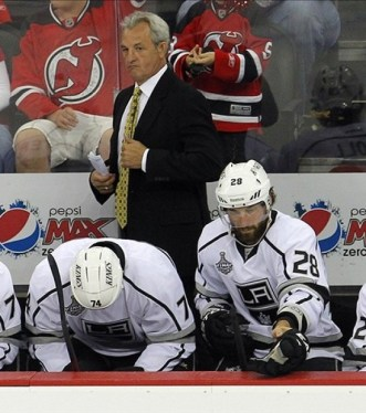 Head Coach Darryl Sutter Is Not In the Business of Missing the NHL Playoffs (Jim O'Connor-US PRESSWIRE)