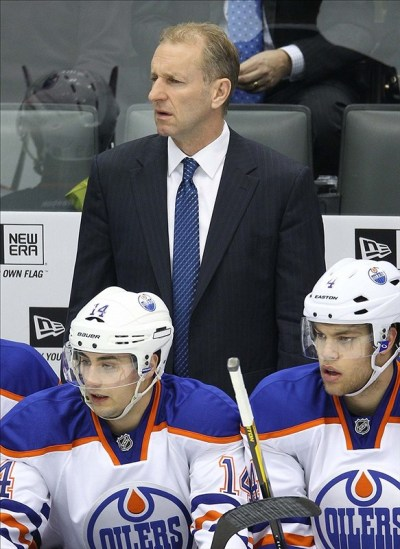 (Tom Szczerbowski-US PRESSWIRE) Ralph Krueger has done a masterful job in coaching Team Europe, which should eventually lead to another NHL job.