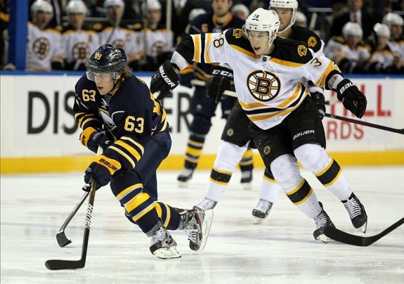 Former Boston Bruins Jordan Caron