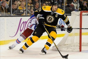 Zdeno Chara is THW's 2013 Most Outstanding Defensive Defenseman. (Bob DeChiara-US PRESSWIRE)