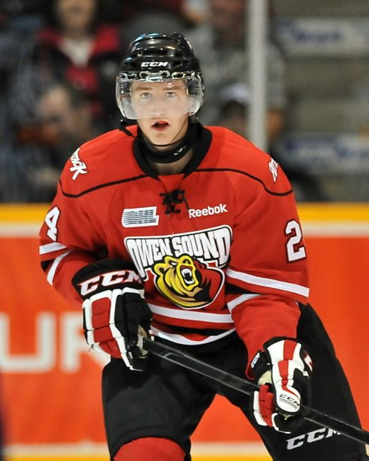 Chris Bigras is not just large in name (CHL Images)