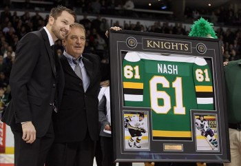 Rick Nash, New York Rangers, London Knights, OHL, NHL