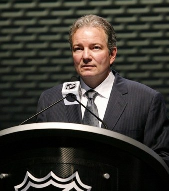 Ray Shero is ready to deal (Charles LeClaire-US PRESSWIRE)