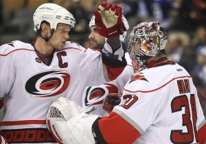 Cam Ward, Eric Staal