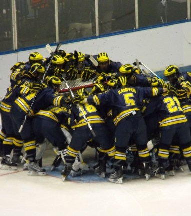 You will not see Michigan in this year's cawlidge hawkey tournament but you will see 16 other teams instead. (File Photo)