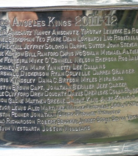 Many names still remain on the LA KIngs from their 2012 Stanley Cup championship.