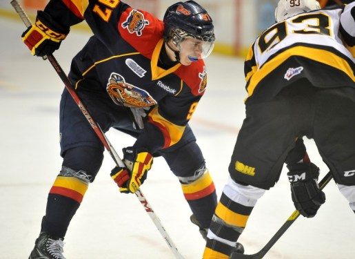 Connor McDavid: Exceptionally talented prospect eligible for the 2015 NHL Draft (Aaron Bell/OHL Images)