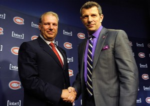 Michel Therrien and Marc Bergevin