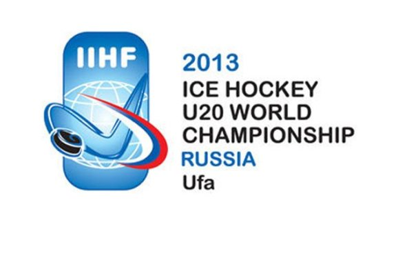 2013 World Junior Hockey Championships logo, Ufa, Russia (IIHF)