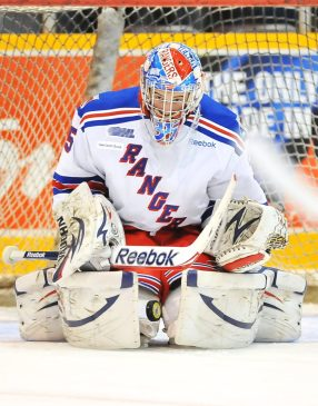 John Gibson, Kitchener Rangers, world juniors, Anaheim Ducks
