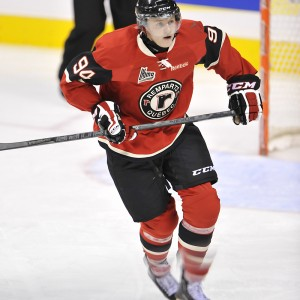 Nick Sorensen missed several games due to injuries in 2012-13 (Source: Quebec Remparts)