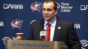 Columbus Head Coach Todd Richards
