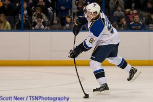 Newcomer Tarasenko scored on his first 2 shots Saturday (TSN Photography)