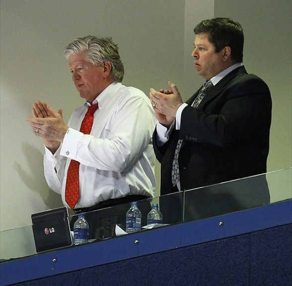 Brian Burke and David Nonis, Toronto Maple Leafs
