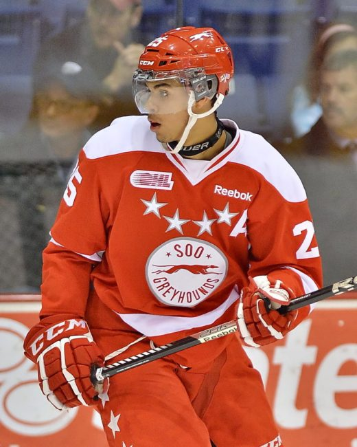 Darnell Nurse is not just tough, he's like Charles Bronson tough (Terry Wilson/OHL Images)