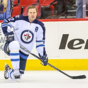 Winnipeg Jet Olli Jokinen - Photo By Andy Martin Jr