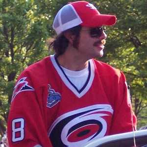 Matt Cullen on 2006 Carolina Hurricanes Stanley Cup tour