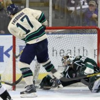 Shea Theodore is scoring goals this season (photo Seattle Thunderbirds)