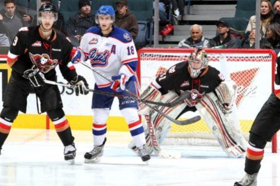 Could Morgan Klimchuk be the new face of the Calgary Flames? (Brad Watson/WHL)